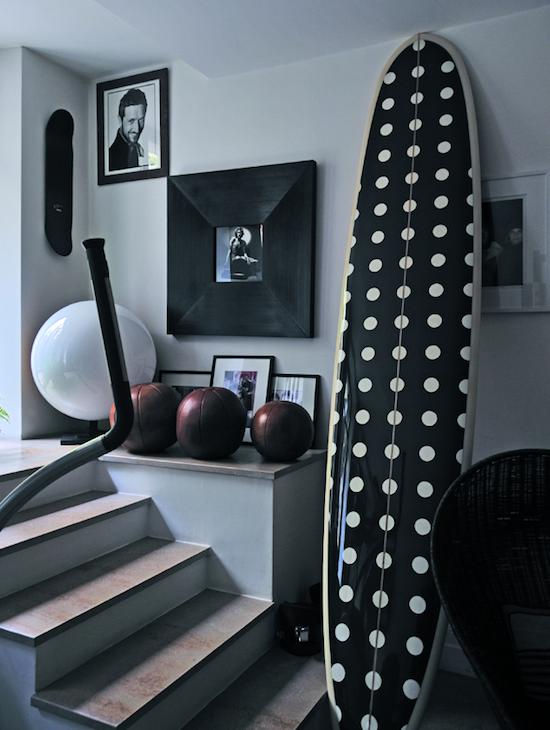 image result for Paris apartment gym Stefano Pilati Terestchenko