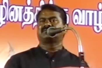 Seeman Speech 12-05-2016 Tiruvanmiyur