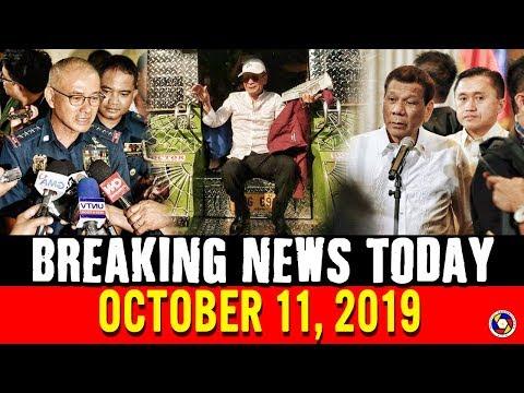 BREAKING NEWS TODAY OCTOBER 11, 2019 | PRES. DUTERTE | SAL PANELO | ALBAYALDE | PING LACSON