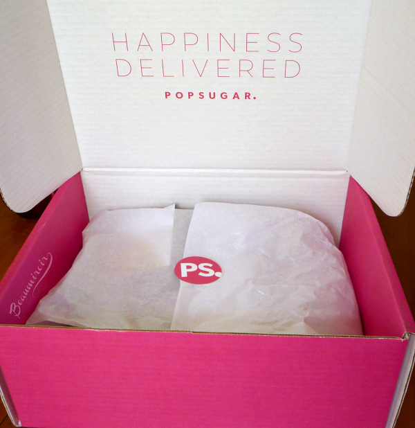 Popsugar Must Have Box September unboxing & review