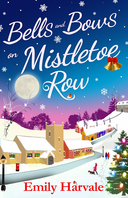 bells-and-bows-on-mistletoe-row, emily-harvale, book, blog-tour