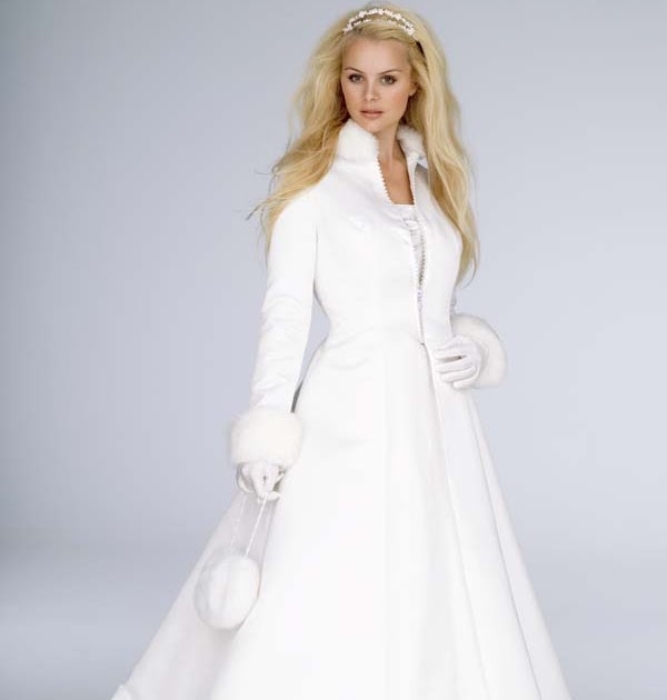 Non Traditional Wedding Dresses For Winter: Gorgeous Wedding Dress: Gorgeous Winter Wedding Dress