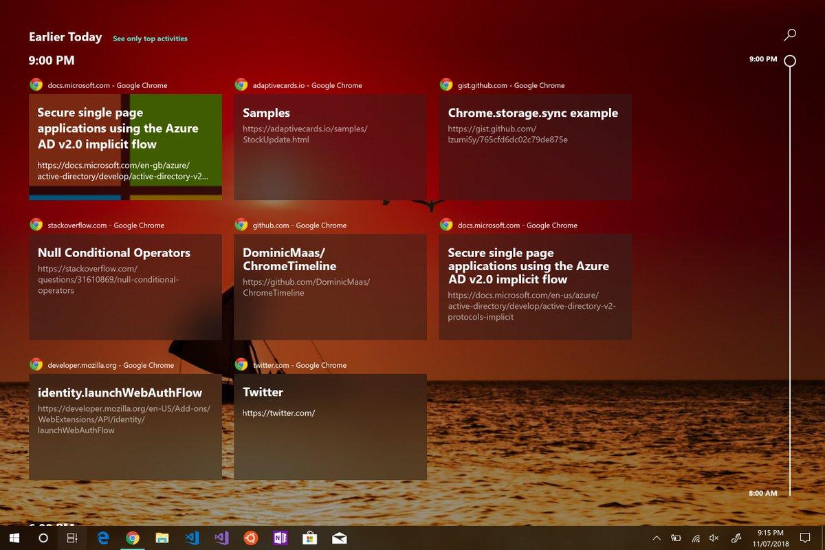 Cronologia-Chrome-Windows-Timeline