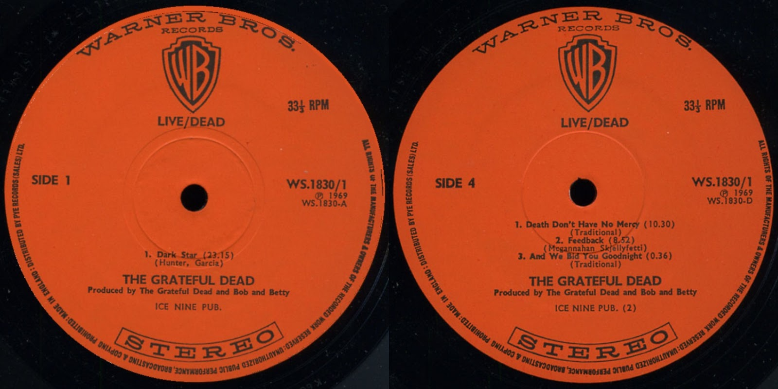 Different Perspectives In My Room   !: GRATEFUL DEAD – Live