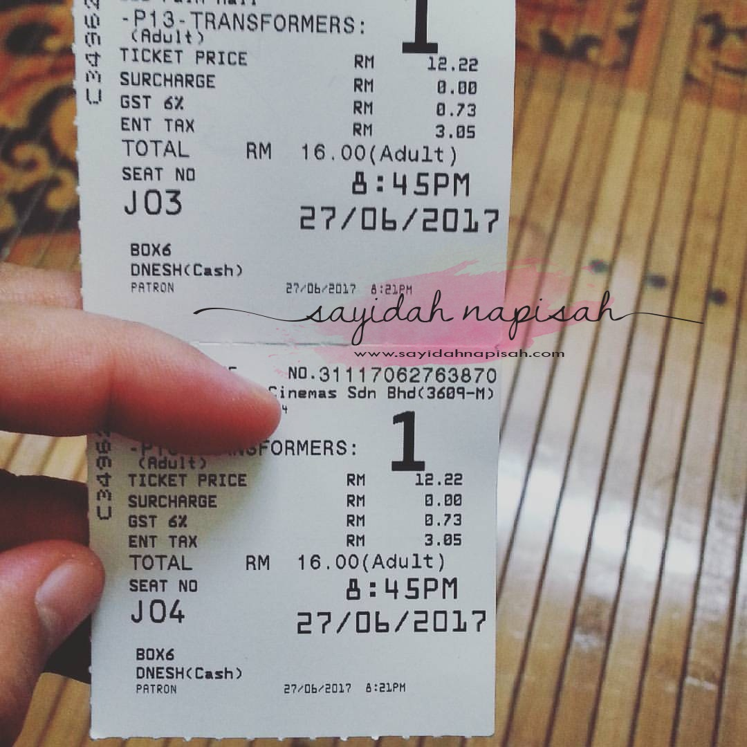 tiket wayang transformers weekdays