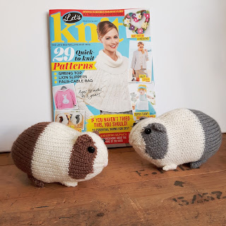 Guinea pigs knitting pattern by Nicky Fijalkowska