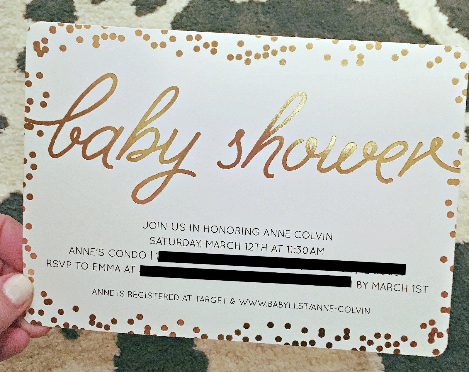 a squared baby shower snapshots  invitations by minted, Baby shower