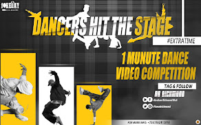 DANCERS HIT THE STAGE (#Extratime) 1 Minute Dance Video Competition