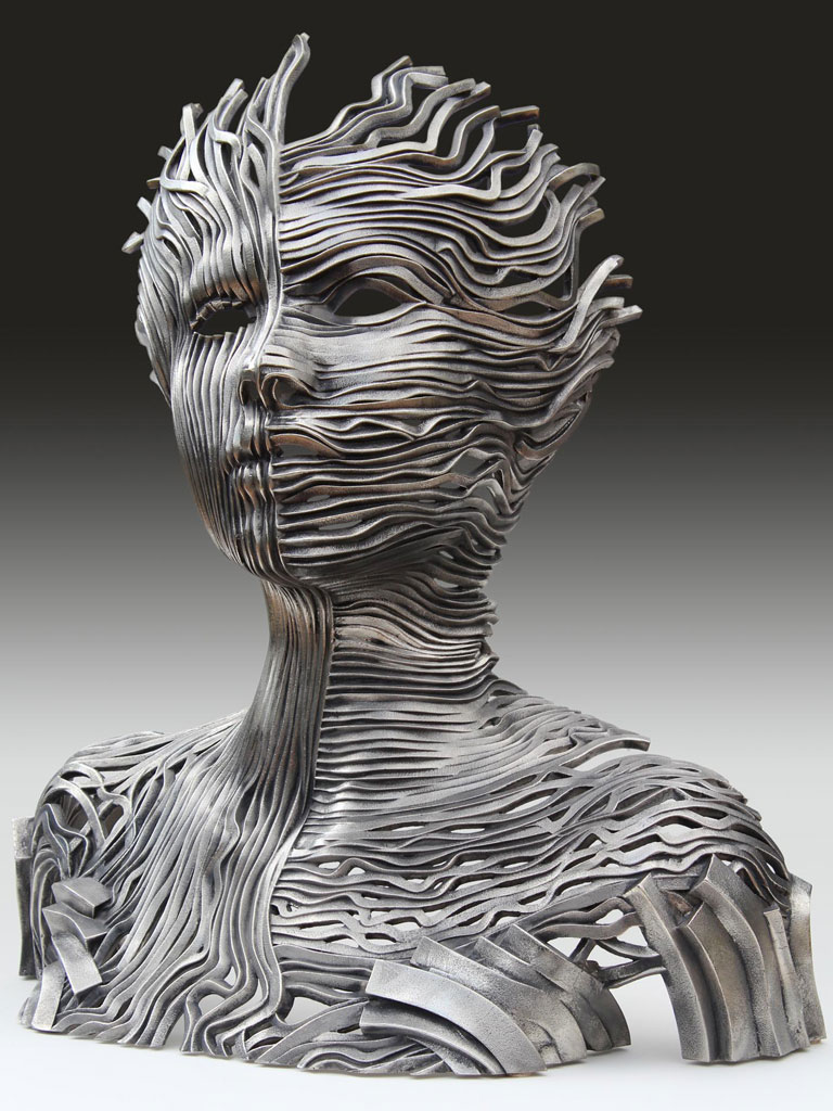 Gil Bruvel 1959 | Stainless Steel sculptures