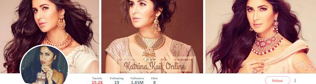 Katrina Kaif twitter