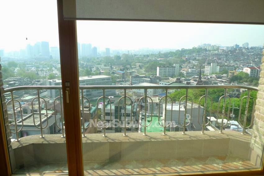 Seoul Apartment Mountain View Villa In Itaewon Yongsan