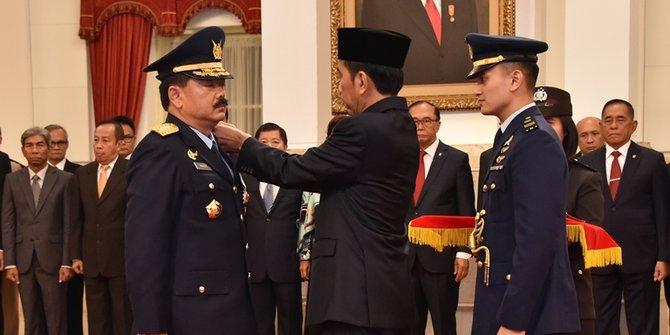Netizen Heran Karier Marsekal Hadi Melejit Hanya dalam Waktu 3 Tahun, karena Dekat Jokowi?