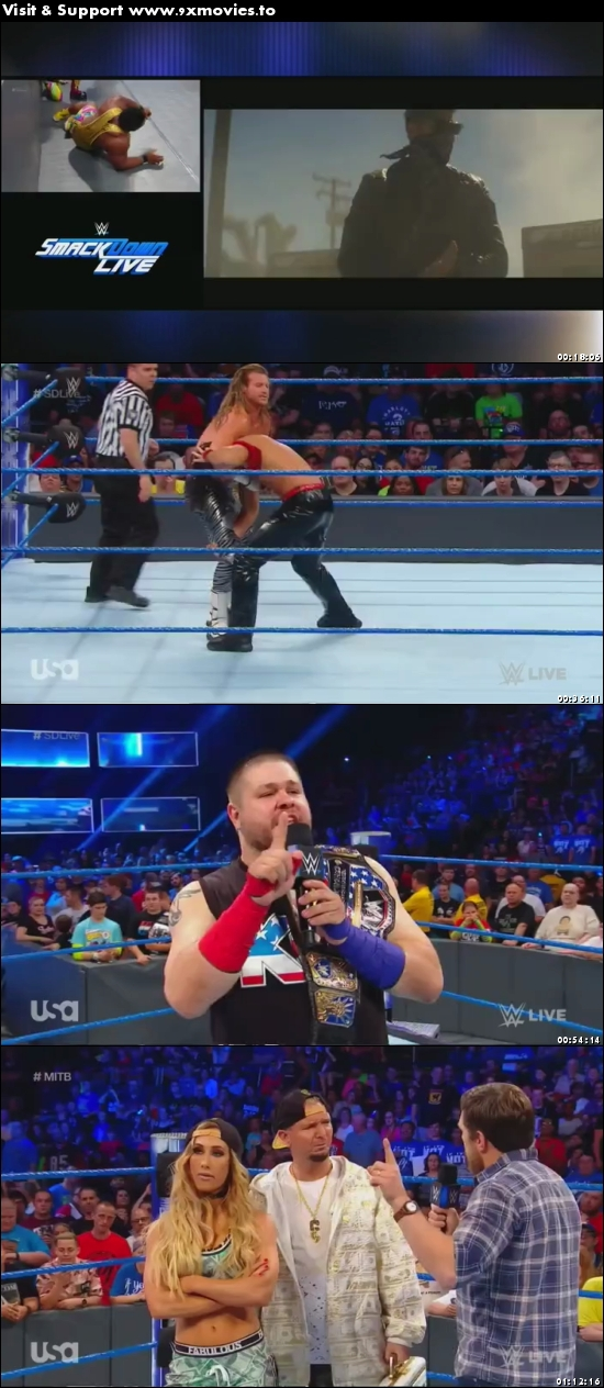 WWE Smackdown Live 20 June 2017 HDTV 480p 300MB