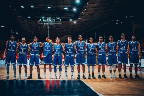 Ευρωπαϊκό Εφήβων U18 : Τουρκία-Ελλάδα 81-63. Θα αγωνιστεί για τις θέσεις 5-8 του Ευρωπαϊκού Πρωταθλήματος