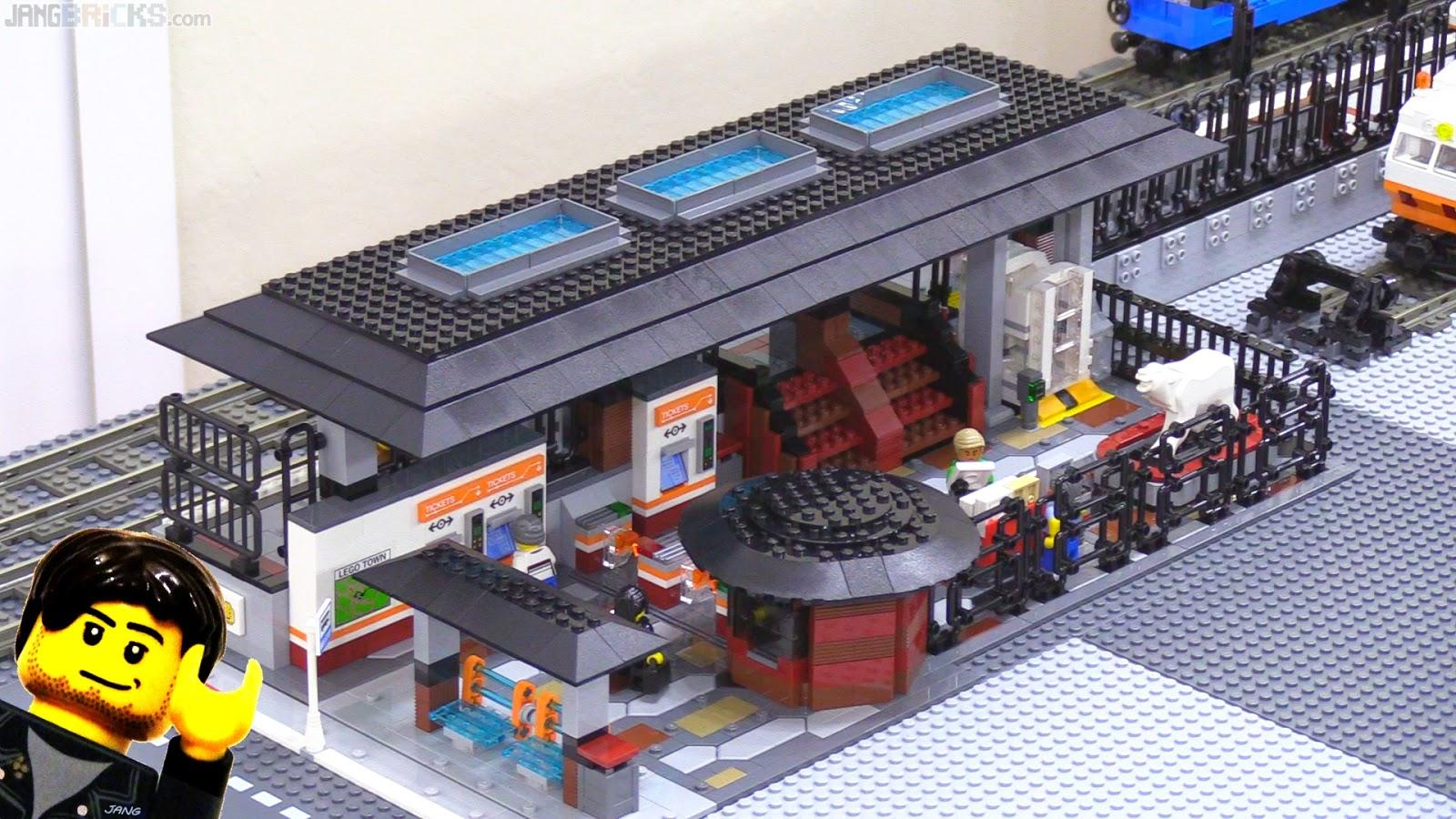 √ MOC of LEGO 60050 Train Station