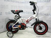 2 Sepeda Anak United Tractor Rangka Aloi 12 Inci