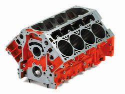 Main Parts of an Internal Combustion Engine (cylinder block)