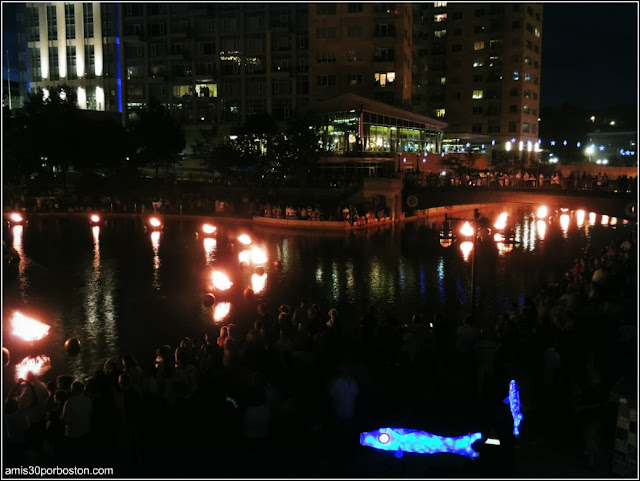 WaterFire en Providence, Rhode Island