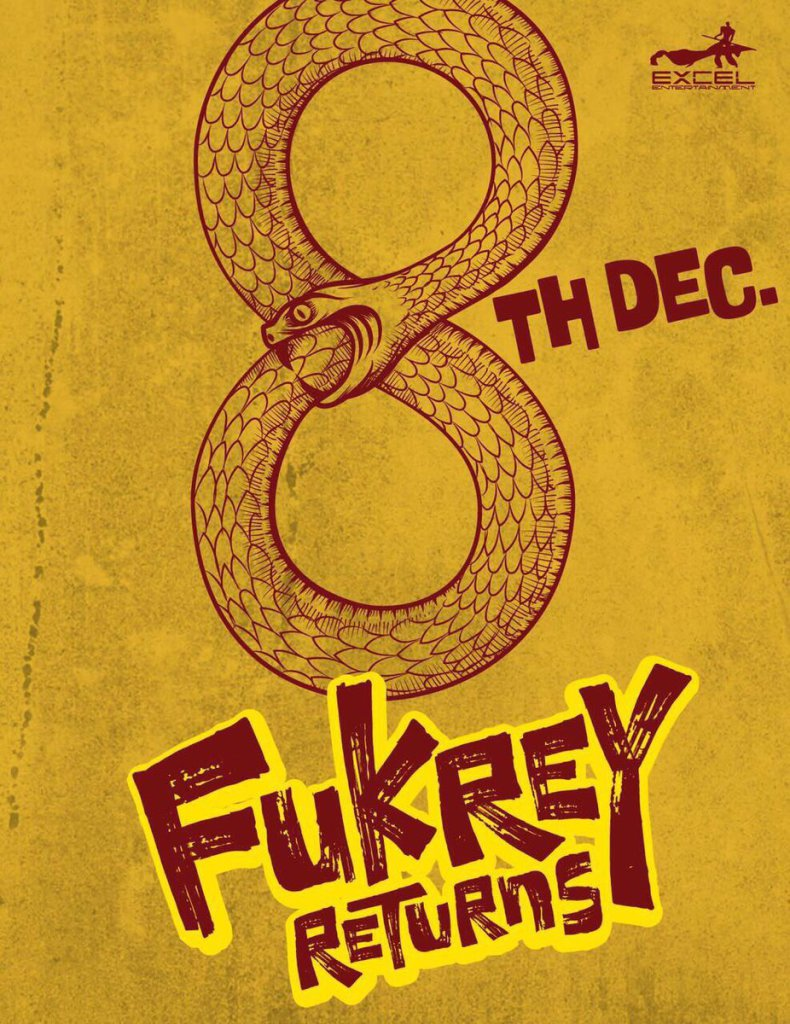 Fukrey Returns Movie 2017 Poster