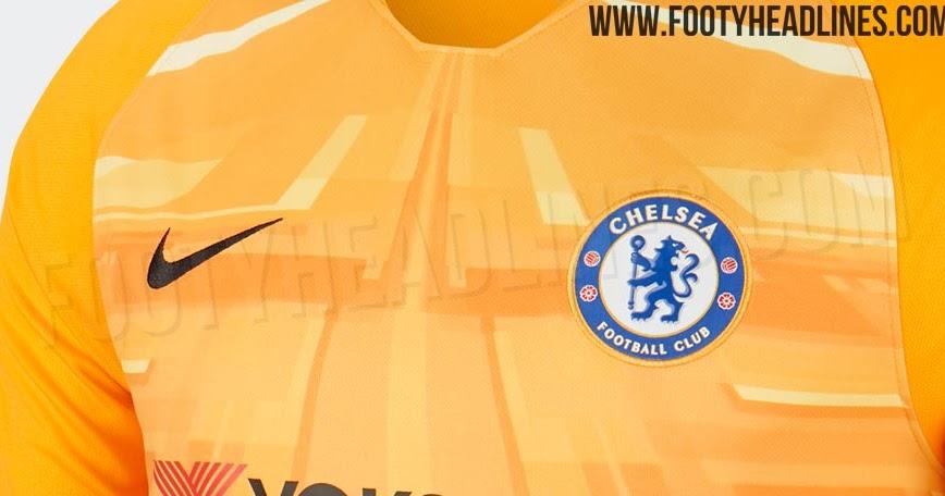Chelsea 19-20 Goalkeeper Kit Leaked