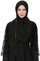 Woman in abaya