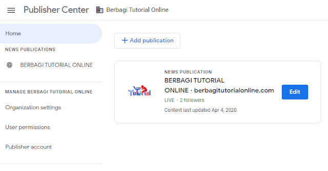 Berbagi Tutorial Online Approved Google News