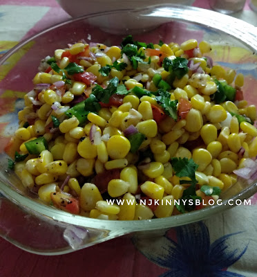 Quick and easy to make Healthy corn salad recipe