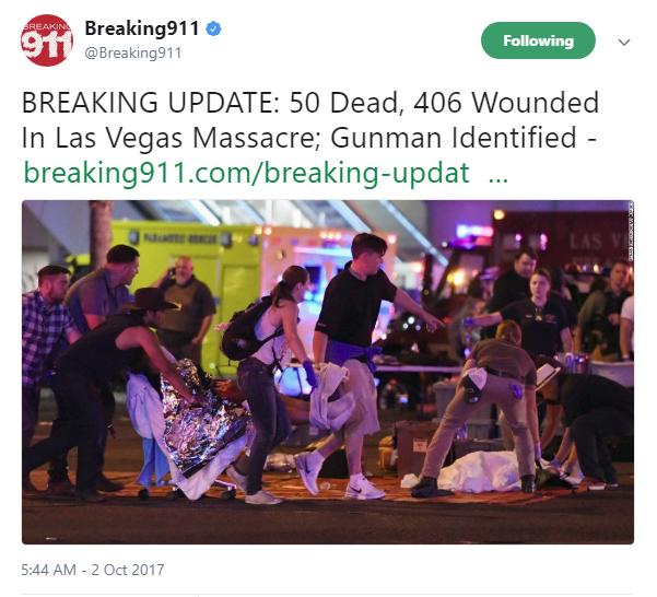 ラスベガス 銃 乱射