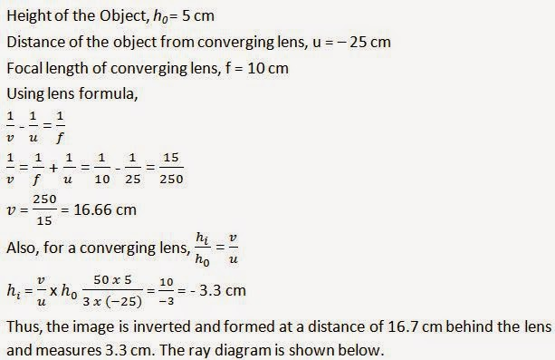 Light-Reflection and Refraction Class 10th Ncert Solutions