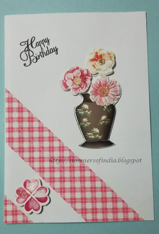 Summersofindia Easy To Make Simple Birthday Card
