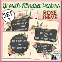 Growth Mindset Rose Set 1