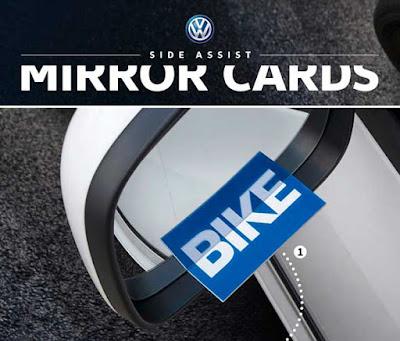 корпоративные визитки Volkswagen