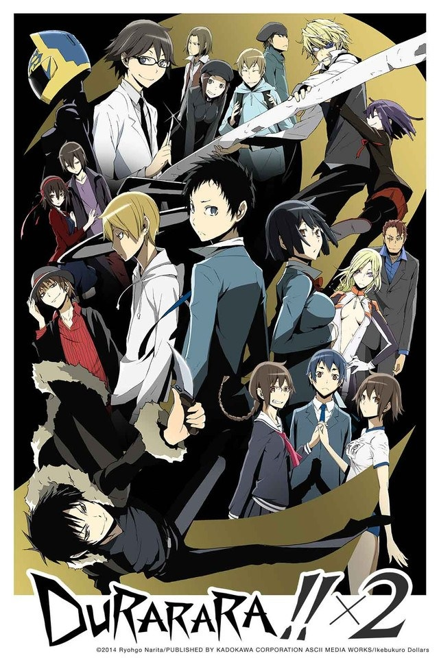 Durarara!!x2 Shou BD Subtitle Indonesia Batch