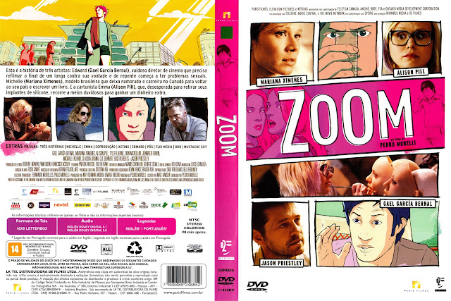 Capa DVD Zoom