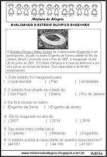 Jogos olímpicos 2016 e estádio Olímpico Engenhão