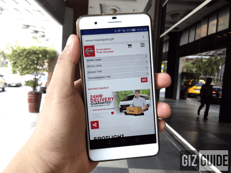Nissan Launched The First The First Car Parts Online Shopping Store In The Philippines!