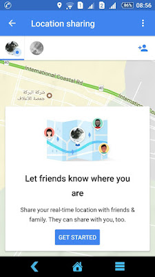 location sharing