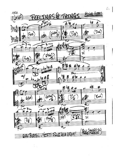 Partitura Violonchelo Michael Gibbs