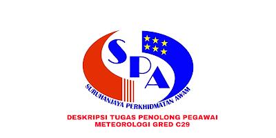 Deskripsi Tugas, Gaji dan Kelayakan Penolong Pegawai Meteorologi Gred C29
