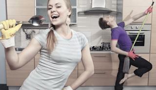 gambar Tips cara sederhana Membersihkan bagian di Rumah Anda
