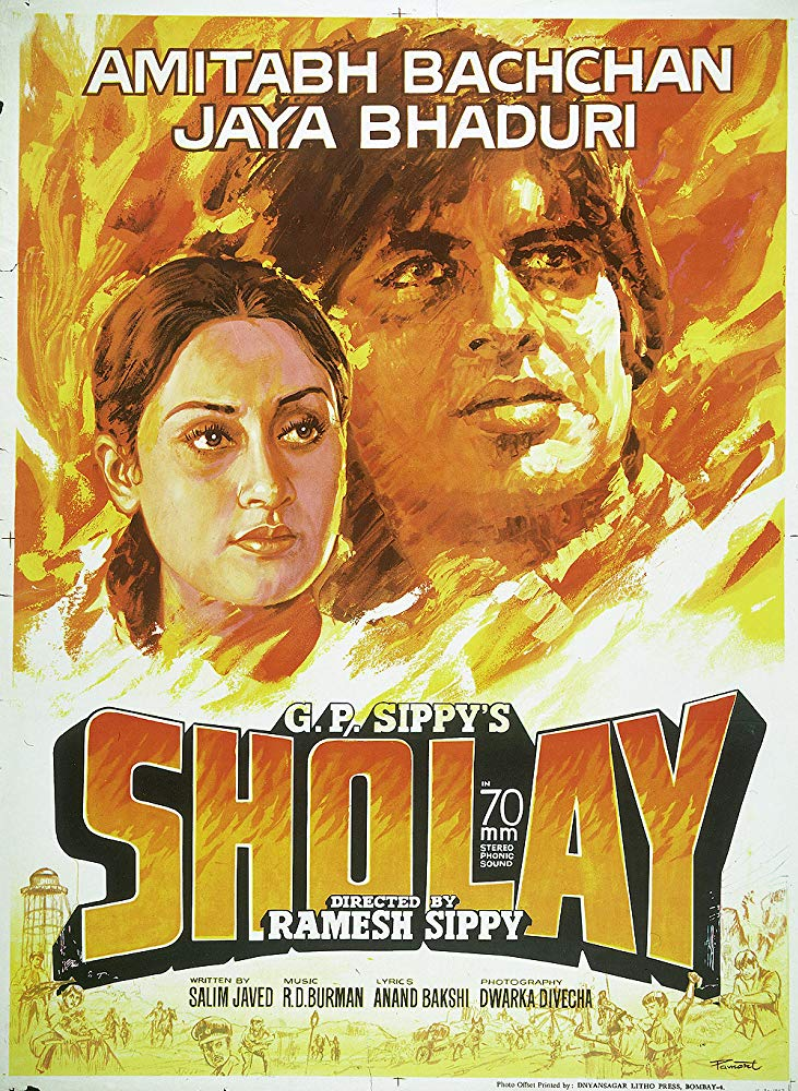 Sholay 1975 Hindi Movie 720p BluRay 1GB