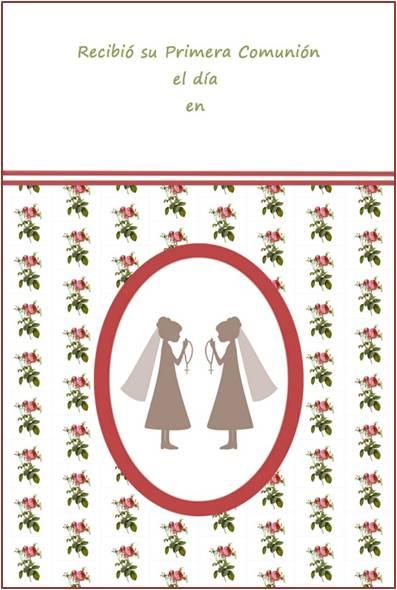 Kit de fiesta primera comunión 2 niñas