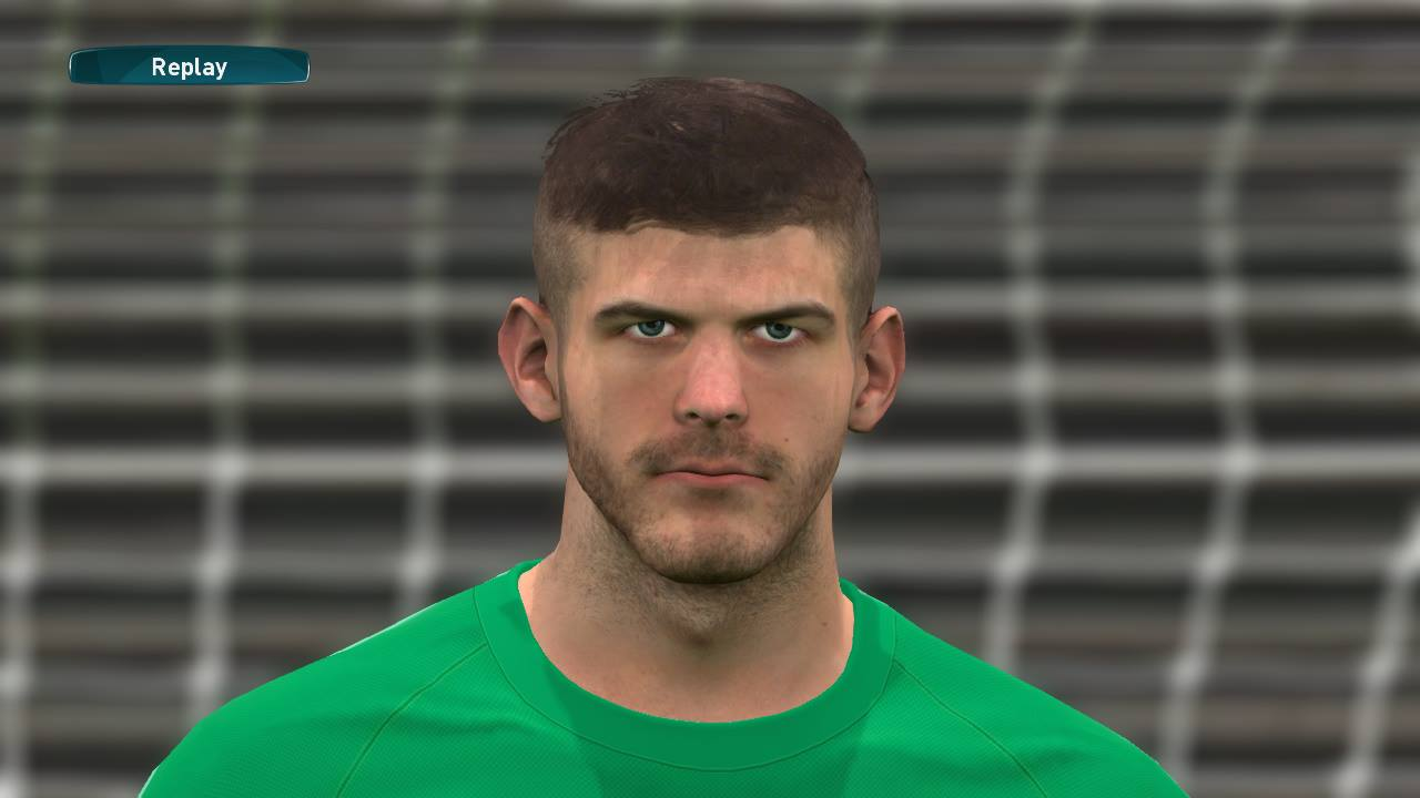 PES 2017 Fraser Forster (Southampton) Face by Lucas Facemaker