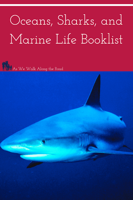 Oceans, sharks, and marine life books for kids