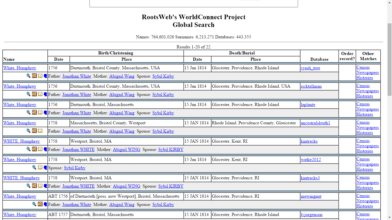 rootsweb com world connect project Rootsweb com home page october 14th, 2018 - the worldconnect project allows users to upload modify link and display their family trees as a means to share their genealogy with other researchers news shelby county chamber news shelby county chamber.