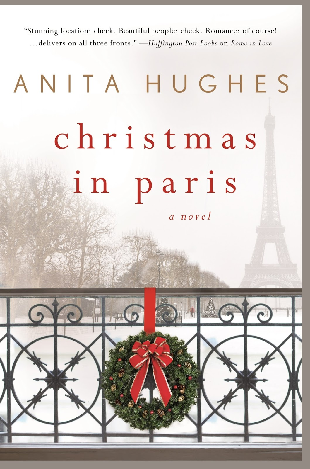 The Book Connection...: New Release: Christmas in Paris by Anita Hughes