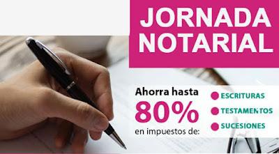 Jornada Notarial 2018 CDMX. Ahorra hasta 80% en impuestos de: Escrituras, Testamentos y Sucesiones.