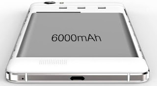 Smartphones with 6000mAh Battery