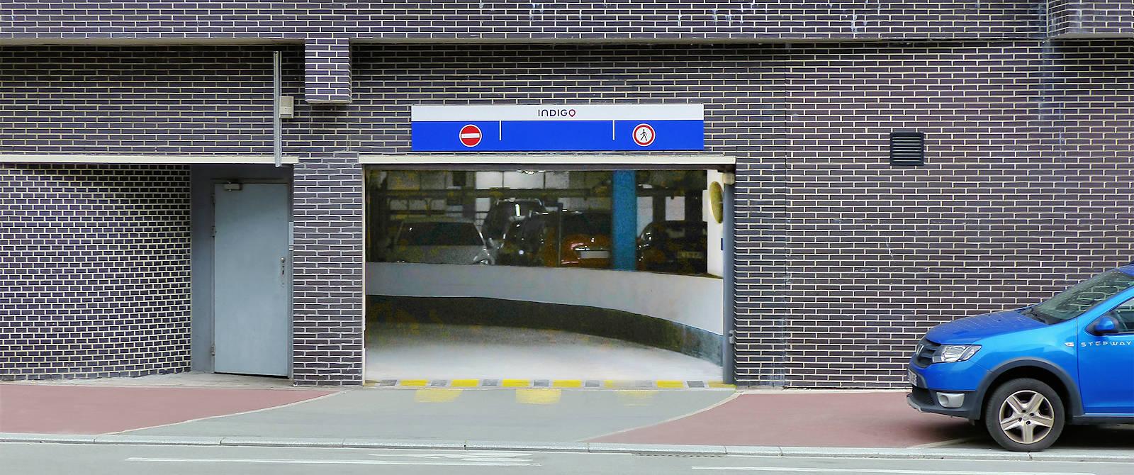 Parking Indigo Cavell, Tourcoing