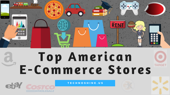 Top American E-Commerce Stores 2017